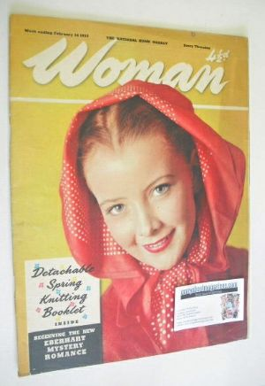 <!--1953-02-14-->Woman magazine (14 February 1953)