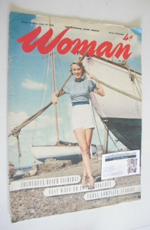 <!--1950-07-15-->Woman magazine (15 July 1950)