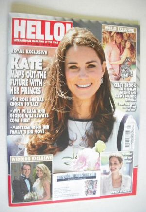 <!--2014-06-23-->Hello! magazine - The Duchess of Cambridge cover (23 June