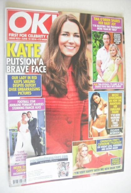 <!--2014-06-10-->OK! magazine - The Duchess of Cambridge cover (10 June 201