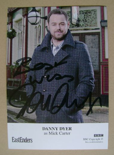 Danny Dyer autograph