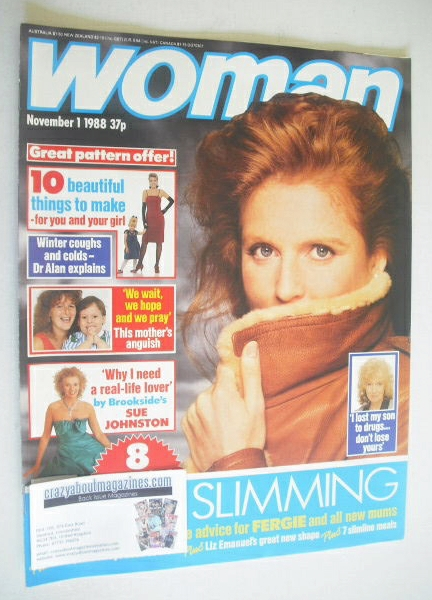 <!--1988-11-01-->Woman magazine - Sarah Ferguson cover (1 November 1988)