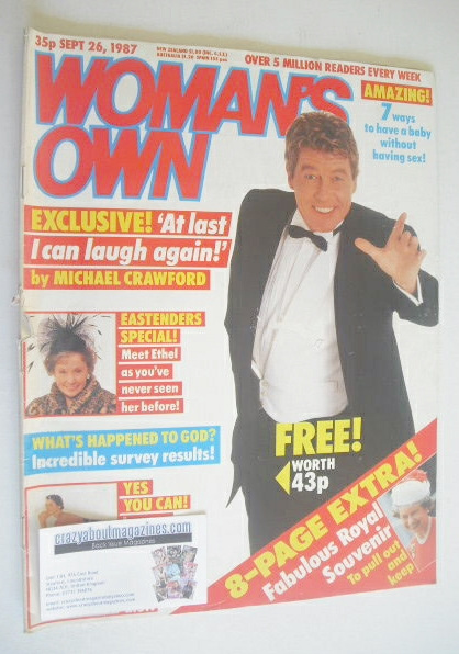 <!--1987-09-26-->Woman's Own magazine - 26 September 1987 - Michael Crawfor