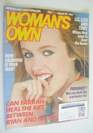 <!--1984-08-25-->Woman's Own magazine - 25 August 1984