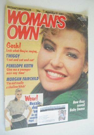 <!--1983-11-05-->Woman's Own magazine - 5 November 1983