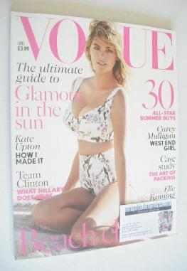<!--2014-06-->British Vogue magazine - June 2014 - Kate Upton cover