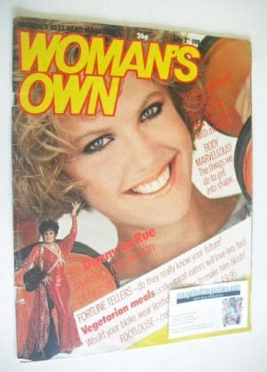 <!--1984-07-07-->Woman's Own magazine - 7 July 1984