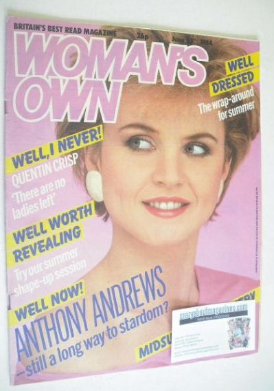 <!--1984-06-23-->Woman's Own magazine - 23 June 1984