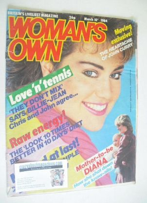 <!--1984-03-10-->Woman's Own magazine - 10 March 1984
