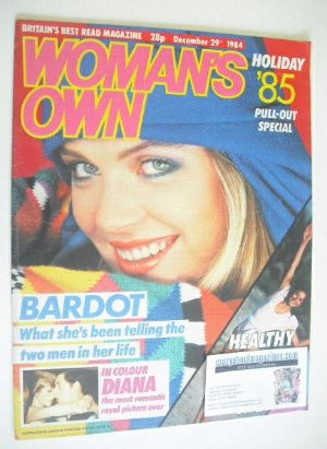 <!--1984-12-29-->Woman's Own magazine - 29 December 1984