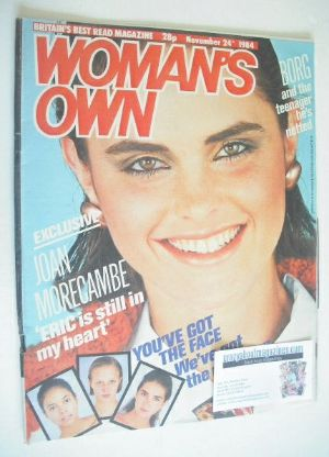 <!--1984-11-24-->Woman's Own magazine - 24 November 1984