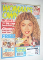 <!--1990-05-21-->Woman's Own magazine - 21 May 1990 - Annie Jones cover