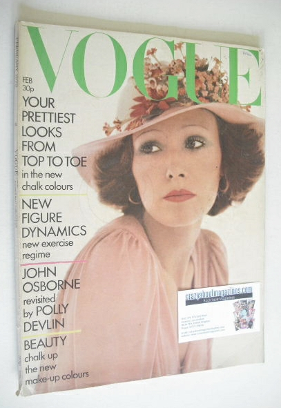 <!--1973-02-->British Vogue magazine - February 1973