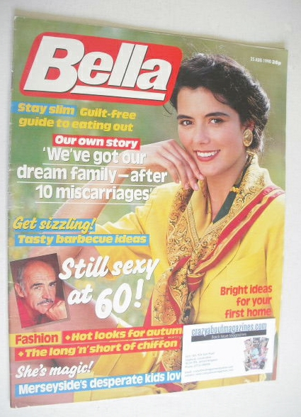 <!--1990-08-25-->Bella magazine - 25 August 1990