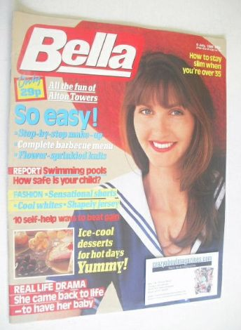 <!--1988-07-09-->Bella magazine - 9 July 1988