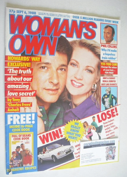 <!--1988-09-06-->Woman's Own magazine - 6 September 1988 - Tony Anholt and