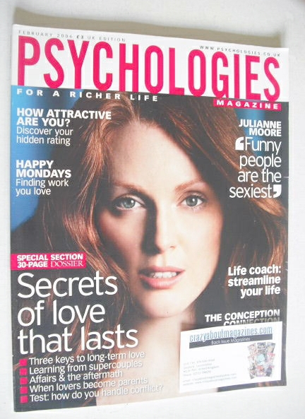<!--2006-02-->Psychologies magazine - February 2006 - Julianne Moore cover