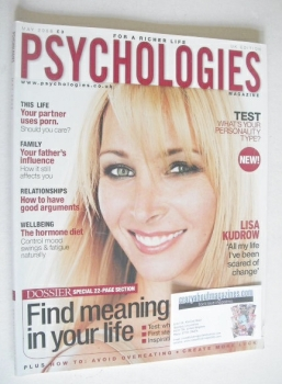 Psychologies magazine - May 2006 - Lisa Kudrow cover