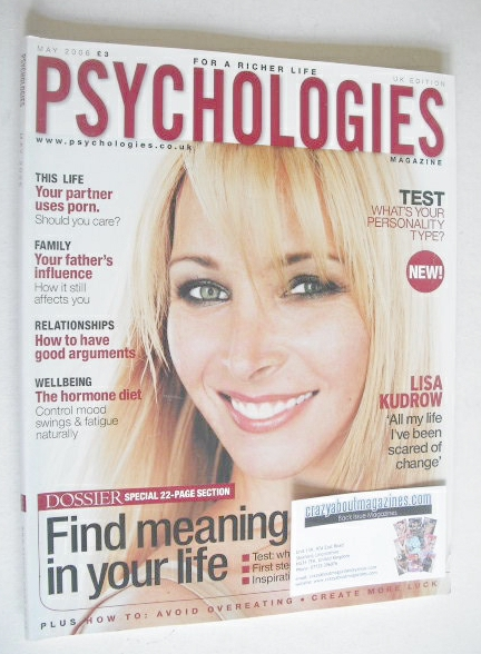 <!--2006-05-->Psychologies magazine - May 2006 - Lisa Kudrow cover