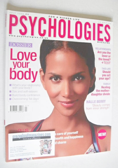 <!--2006-07-->Psychologies magazine - July 2006 - Halle Berry cover