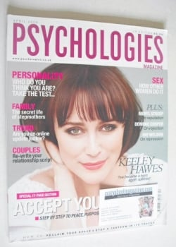 Psychologies magazine - April 2009 - Keeley Hawes cover