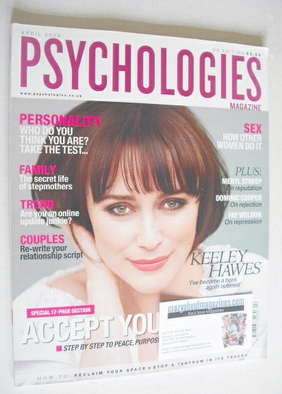 <!--2009-04-->Psychologies magazine - April 2009 - Keeley Hawes cover
