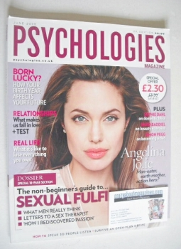 Psychologies magazine - June 2009 - Angelina Jolie cover
