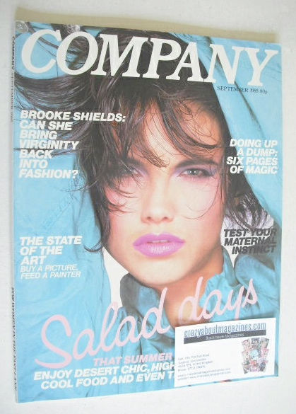 <!--1985-09-->Company magazine - September 1985