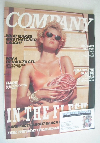 <!--1985-07-->Company magazine - July 1985