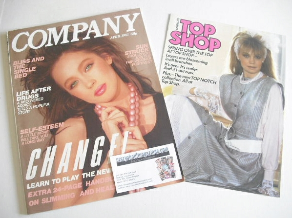 <!--1983-04-->Company magazine - April 1983