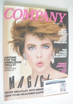 Company magazine - March 1983 - Kathryn Hardy cover
