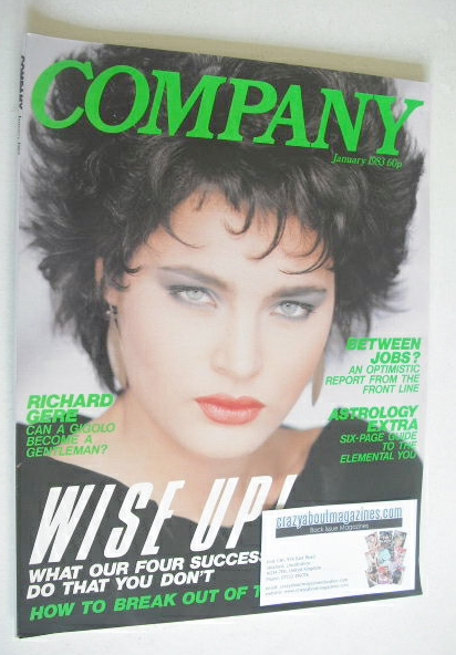 <!--1983-01-->Company magazine - January 1983