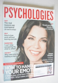 Psychologies magazine - September 2010 - Julianna Margulies cover