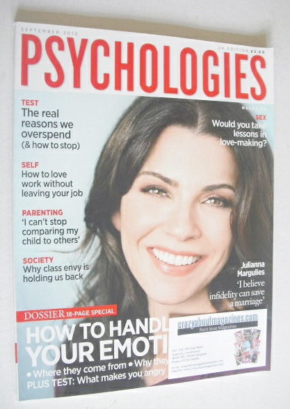 <!--2010-09-->Psychologies magazine - September 2010 - Julianna Margulies c