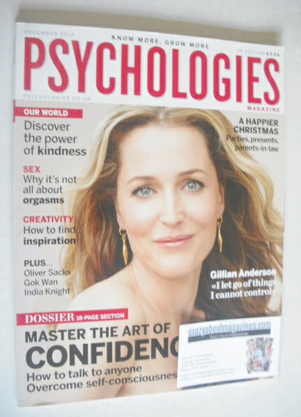 <!--2010-12-->Psychologies magazine - December 2010 - Gillian Anderson cove