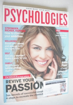 Psychologies magazine - March 2011 - Billie Piper cover