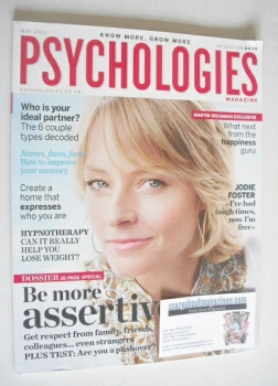 Psychologies magazine - May 2011 - Jodie Foster cover