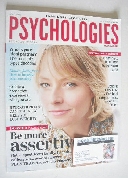 <!--2011-05-->Psychologies magazine - May 2011 - Jodie Foster cover