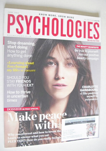 <!--2011-06-->Psychologies magazine - June 2011 - Charlotte Gainsbourg cove