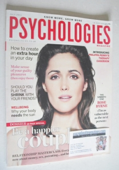 Psychologies magazine - July 2011 - Rose Byrne cover