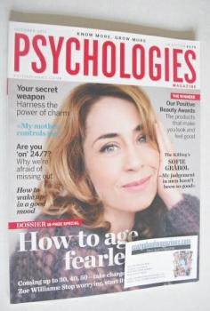 Psychologies magazine - October 2011 - Sofie Grabol cover