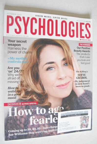 <!--2011-10-->Psychologies magazine - October 2011 - Sofie Grabol cover