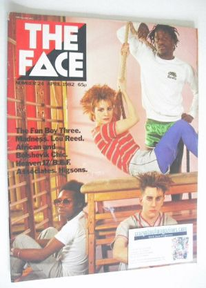 <!--1982-04-->The Face magazine - Fun Boy Three cover (April 1982 - Issue 2