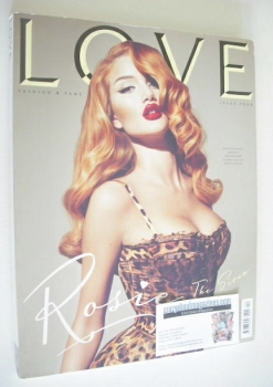 Love magazine - Issue 4 - Autumn/Winter 2010 - Rosie Huntington-Whiteley cover
