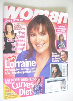 Woman magazine - Lorraine Kelly cover (19 February 2007)