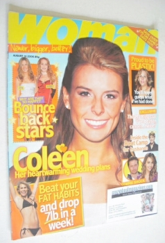 Woman magazine - Coleen McLoughlin cover (14 August 2006)