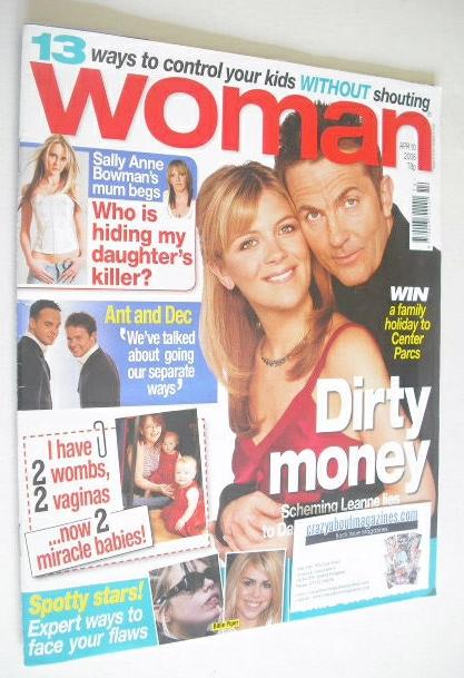 <!--2006-04-10-->Woman magazine - Bradley Walsh and Jane Danson cover (10 A