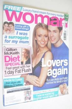 Woman magazine - Kelvin Fletcher and Sammy Winward cover (27 March 2006)