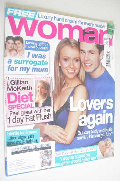 <!--2006-03-27-->Woman magazine - Kelvin Fletcher and Sammy Winward cover (