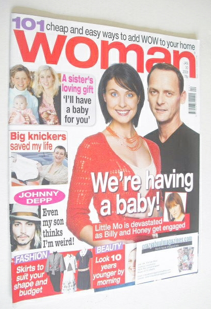 <!--2006-01-30-->Woman magazine - Emma Barton & Perry Fenwick cover (30 Jan